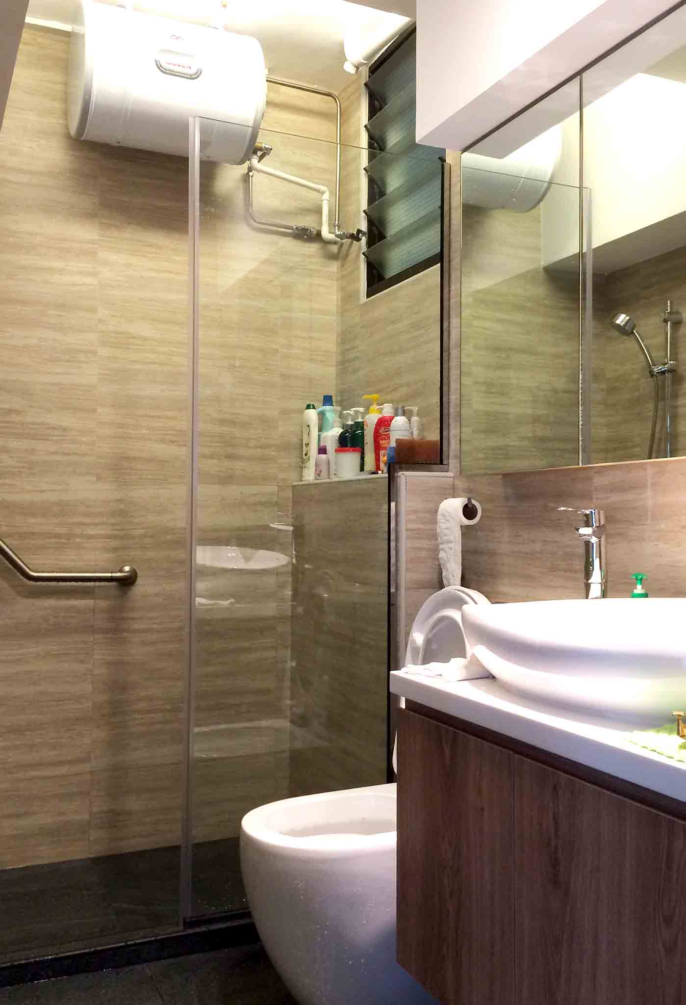 Hdb basic package renovation contractor singapore for Bathroom renovation package