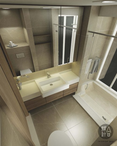 3d-drawing-master-bathroom-top-view